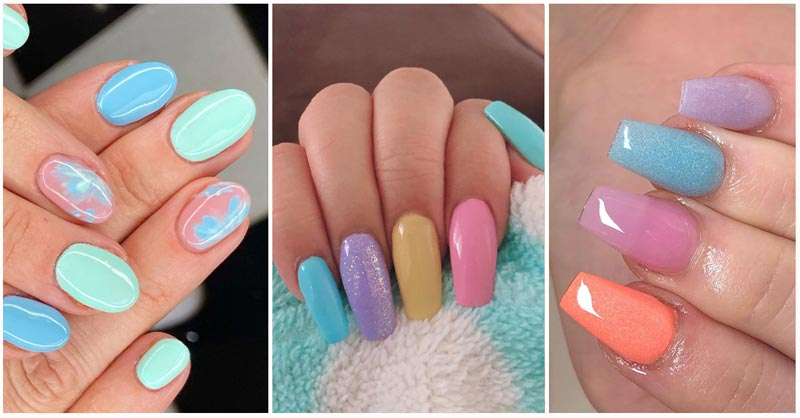 UPDATED: 50 Delicate Pastel Nail Designs (August 2020)