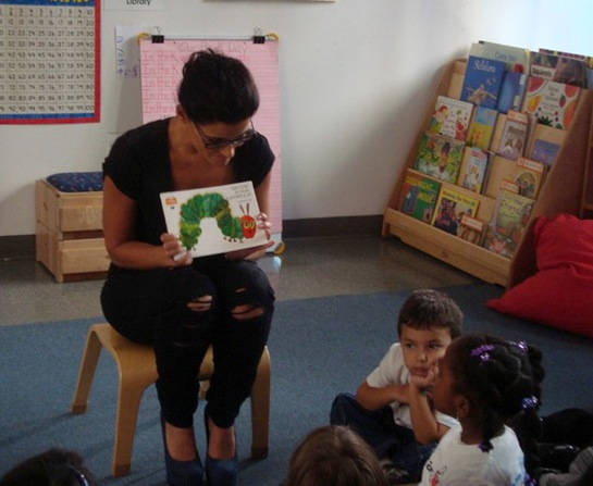 Photo: Nelly Furtado Reads For Charity