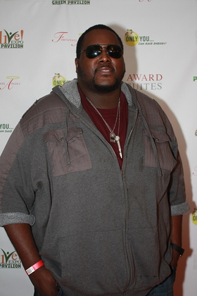 Photo: Quinton Aaron at ALIVE! Expo
