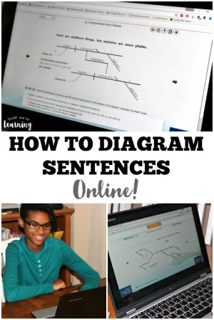 Learn with Diagrams: Online Sentence Diagramming for Kids