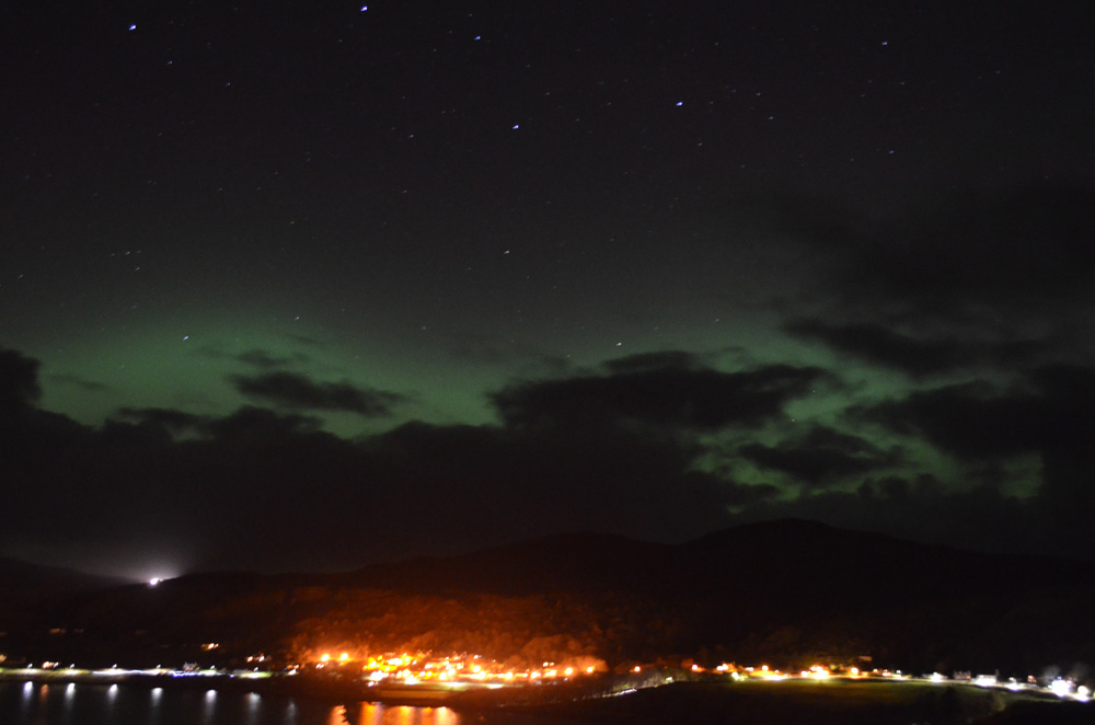 Northern Lights on the Isle of Skye
