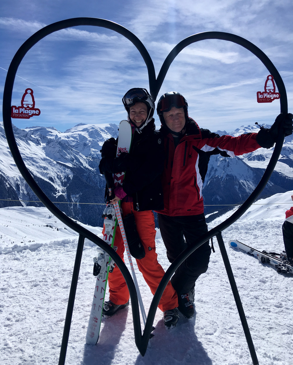 Friends in La Plagne