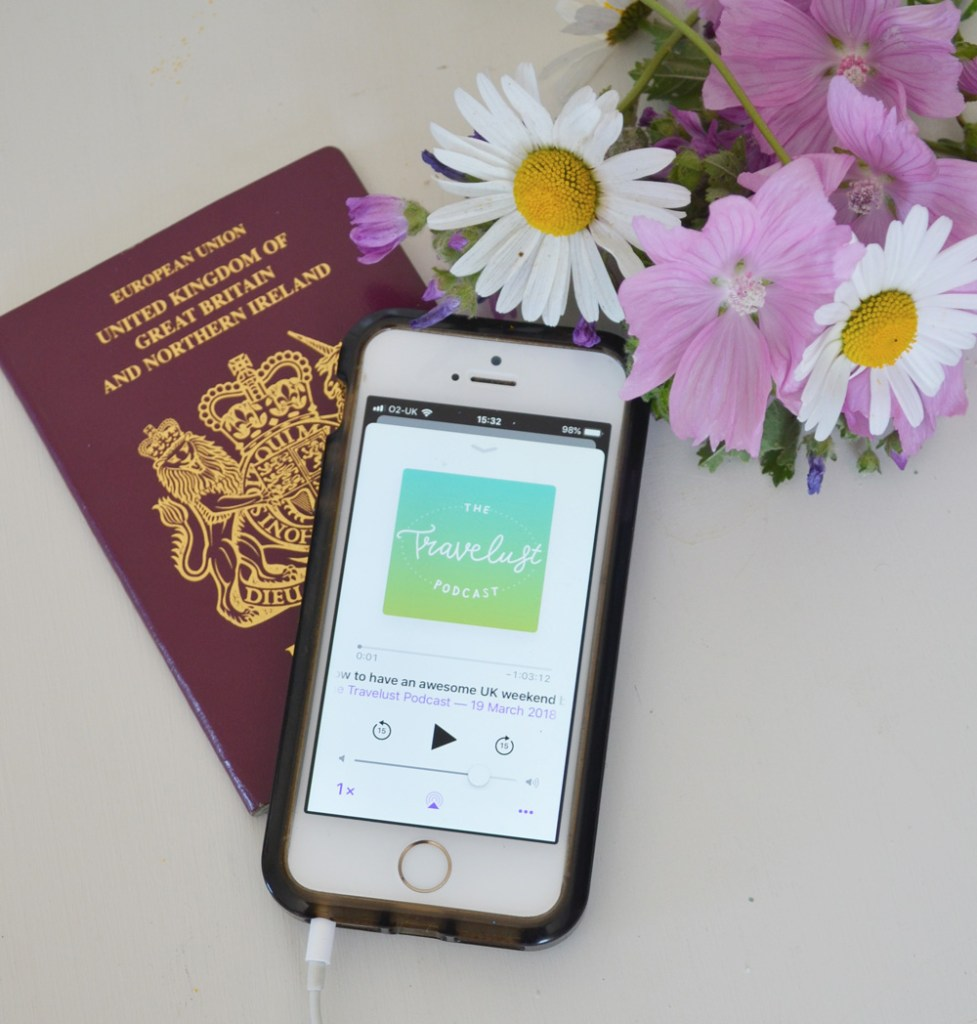 Podcasts for travel bloggers