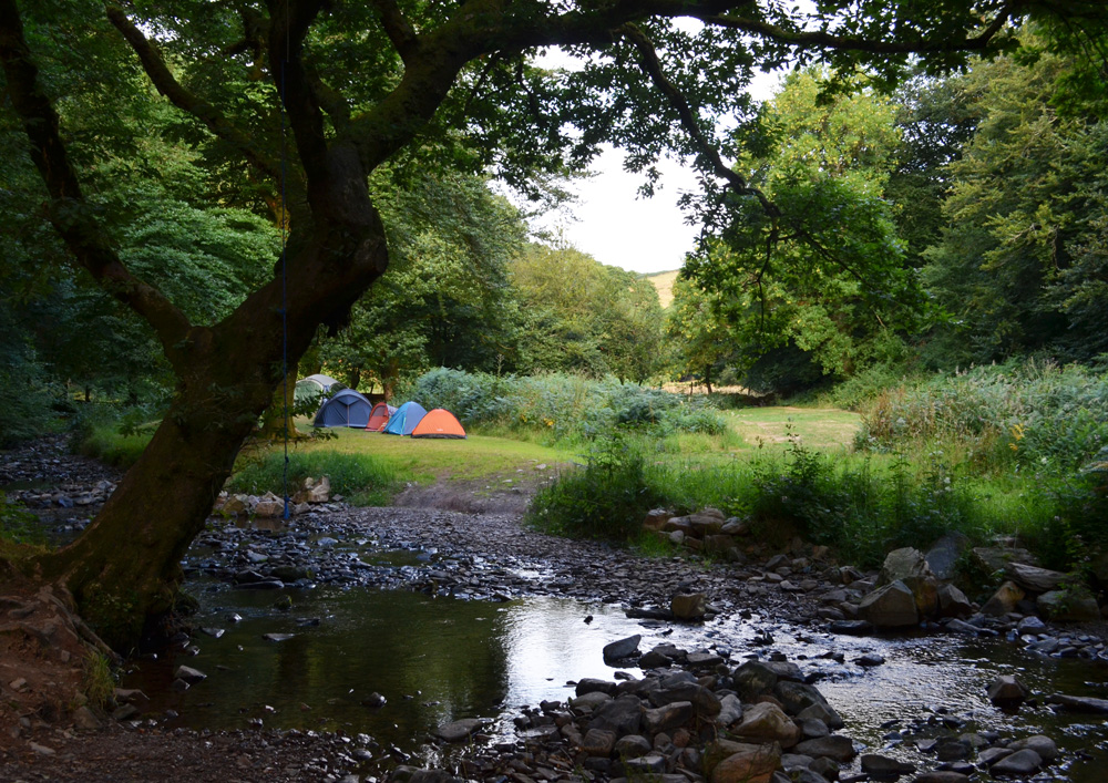 Pool Bridge Campsite Exmoor