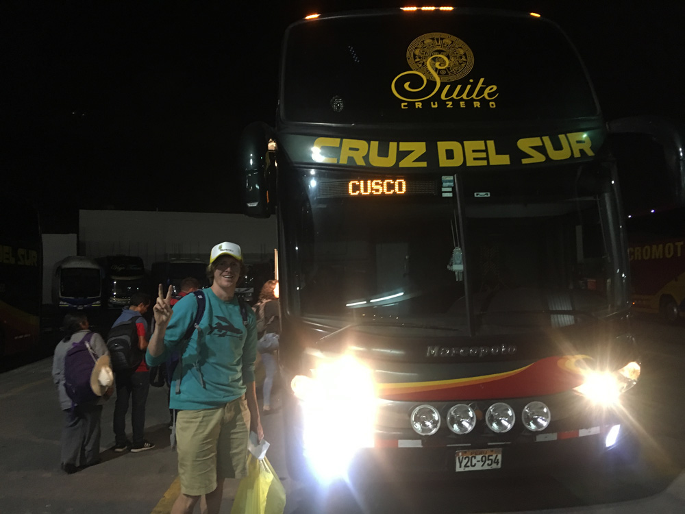 What is it like to take the night bus in South America?