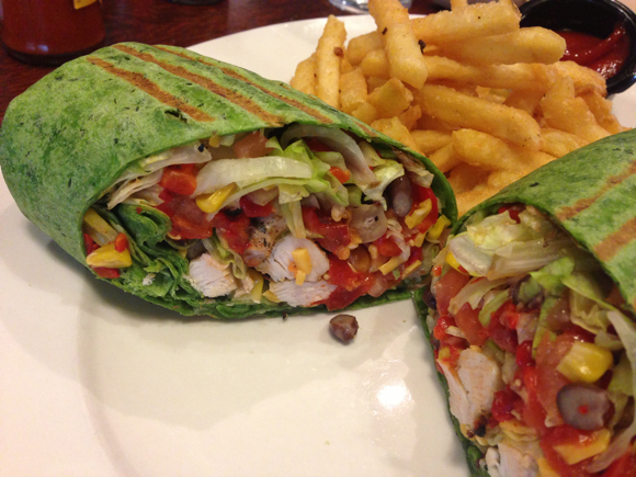 Southern Chicken Wrap
