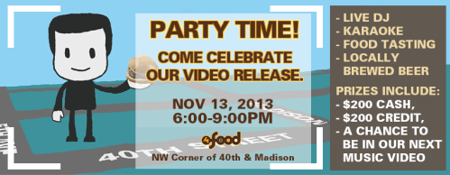 4foodVideoReleaseParty