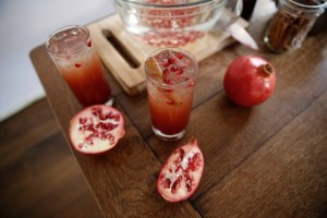 Gail Simmons Pomegranate Drink