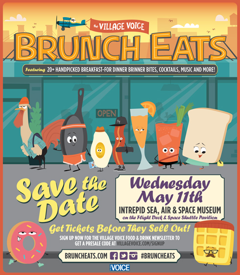 Village Voice Brunch Bash – May 11th