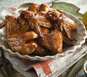 Recipe: Glazed Garlic & Ginger Chicken Wings