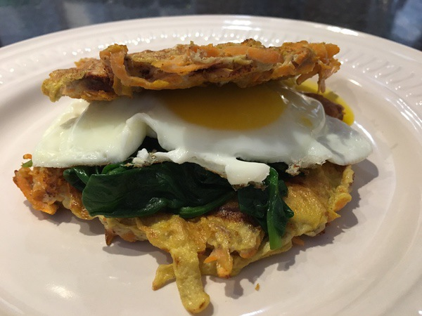 Recipe: Sweet Potato Waffle'd Breakfast Sandwich