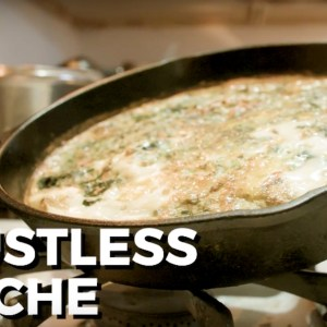 Crustless Quiche Recipe For Your Next Brunch (VIDEO)