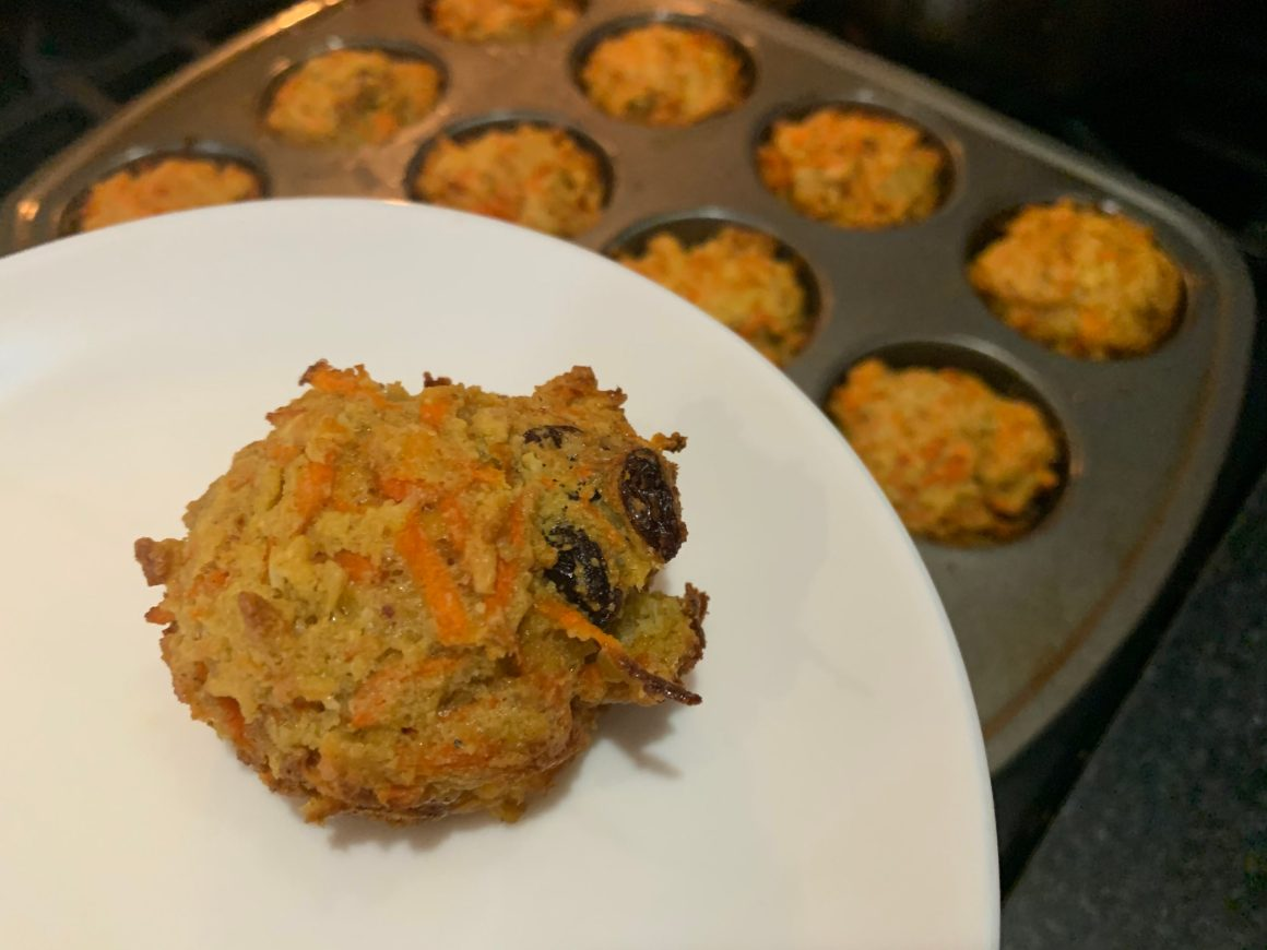 Recipe: Gluten-free and Dairy-free Carrot Muffins