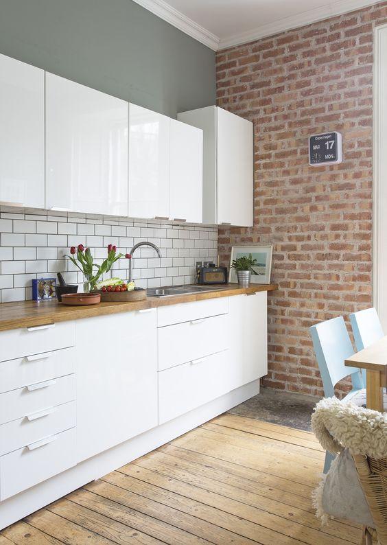 Brick Kitchen White Yelp
