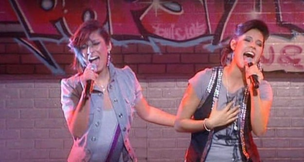 Esra und Valentina bei Popstars Du und Ich in New York 2009