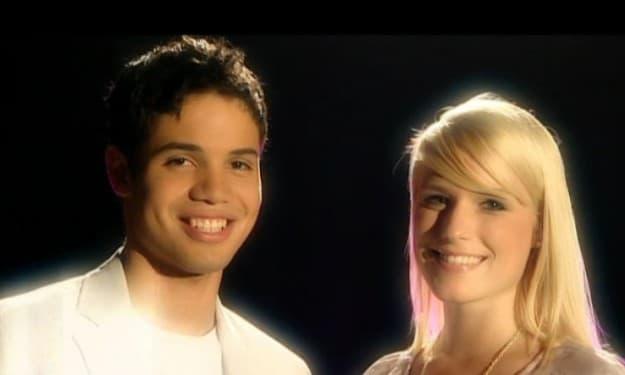 Leonardo und Vanessa bei Popstars Du und Ich 2009 in Deutschland