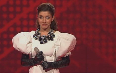 "X Factor 2010: Edita Abdieski verblasst bei ""I've Come To Life"" - TV News"