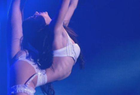 Emilia Arata beim Halbfinale von Das Supertalent 2010