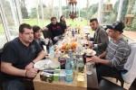 DSDS 2011: Einzug in die DSDS-Villa und erstes gemeinsames Frühstück