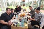 Marvin Cybulski, Sebastian Wurth, Marco Angelini, Zazou Mall, Ardian Bujupi und Pietro Lombardi