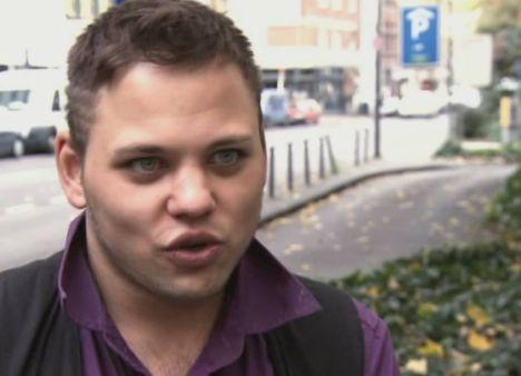 Nico Raecke beim Recall zu DSDS 2011