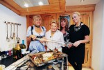 """Das perfekte Promi Dinner"" mit Carmen Geiss, Jenny Elvers-Elbertzhagen, Rosi Schipflinger und Ireen Sheer - TV"