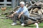 Die Alm 2011: Holzfällen ist für Rolf Scheider wie Kinder bekommen!