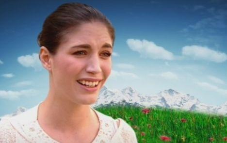 """Tessa Bergmeier bei """"Die Alm 2011"""""""