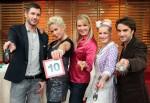 Promi Kocharena mit Antonia Langsdorf, Oliver Wnuk, Claudia Effenberg, Jochen Schropp und Enie van de Meiklokjes