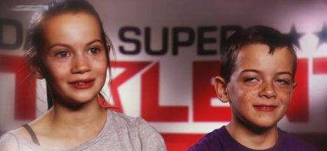 giulia und maik bei das supertalent 2011