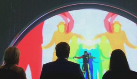 Das Supertalent 2011: Miroslav Zilka interagiert mit Videoleinwand - TV News