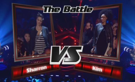 The Voice of Germany: Kim Sanders gewinnt gegen Sharron Levy im Battle - TV