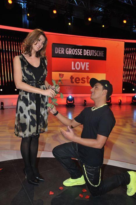 Thomas Karaoglan beim großen deutschen Love Test