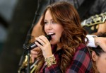Miley Cirus Performs on ABC's Good Morning America - July 18, 2008