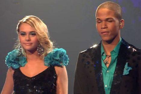DSDS 2012: Jesse Ritch und Fabienne Rothe legen einen guten Start hin! - TV