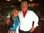 Manfred Kratz und seine Tochter Rebecca