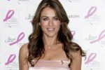 """Elizabeth Hurley """"Ready, Set, Pink!"""" Event at Bloomingdales to Support Breast Cancer Research Fund"""