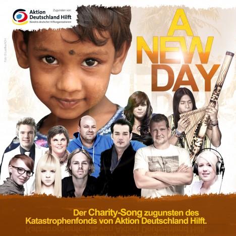"""Daniel Schuhmacher, Lisa Bund und Leo Rojas unterstützen """"A New Day""""! - Musik"""