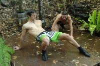 Dschungelcamp 2013: Claudelle Deckert, Patrick Nuo und die wilden Wasserspiele!