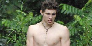 Joey Heindle: Der nackte Held im Dschungel kotzt Schweinesperma!