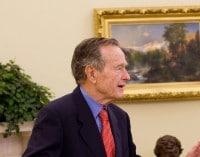 George Bush senior kann Krankenhaus verlassen