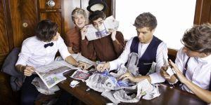 Niall Horan, Harry Styles, Zayn Malik, Louis Tomlinson und Liam Payne COVER!