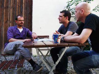 V.l.: Martin, Martin Baudrexel, Ralf Zacherl