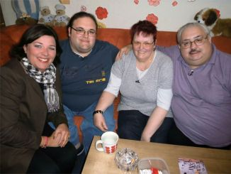 v.li.: Vera Int-Veen, Ingo, Birgit und Lutz