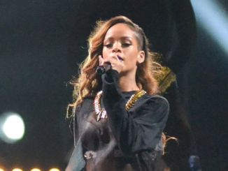 Rihanna in Concert at the Honda Center in Anaheim