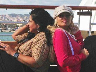 Daniela Katzenberger (r.) und ihre Mutter Iris haben eine Kreuzfahrt durchs Mittelmeer geschenkt bekommen