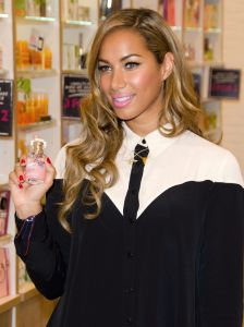 Leona Lewis Photocall at The Body Shop in London on March 27, 2013
