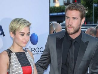 """Miley Cyrus and Liam Hemsworth - """"Paranoia"""" Los Angeles Premiere - Arrivals"""
