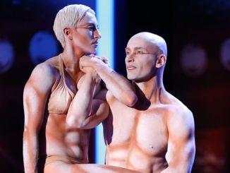 Das Supertalent 2013: Die Akrobaten Richard Jecsmen und Yana Semilet zelebrieren Langsamkeit! - TV
