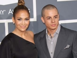 Jennifer Lopez, Casper Smart - 55th Annual GRAMMY Awards - Arrivals